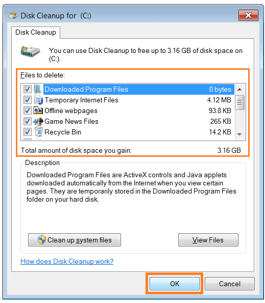 Fix Windows - Fix Windows - Disk Cleanup - WindowsWally