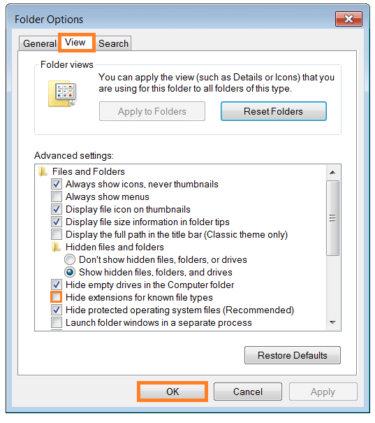 how to open download folder