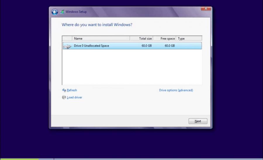 Install Windows 8 - 3 -  Where to Install - WindowsWally