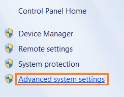 Microsoft Windows - Advanced System Settings --WindowsWally