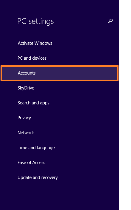 Windows 8.1 Speed - PC Settings - Accounts -- Windows Wally