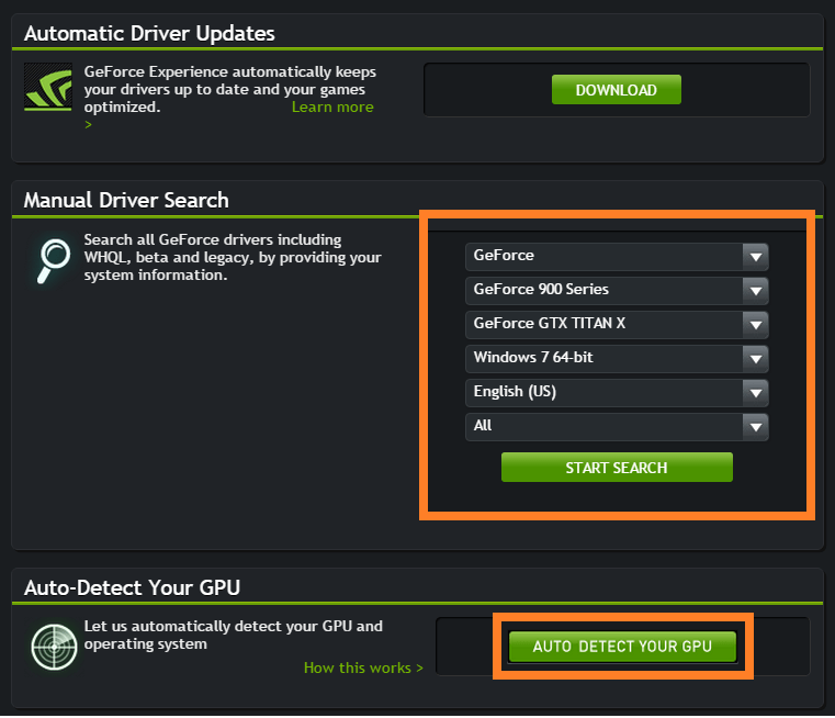 Windows 10 Update - Nvidia Site - Driver Search -- Windows Wally