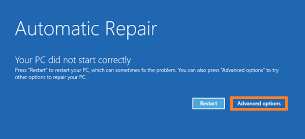 Windows 10 -- Safe Mode - Automatic Repair - Advanced Options - 2 - WindowsWally