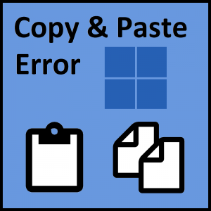 How to fix the cannot open the clipboard error in for In this house copy and paste