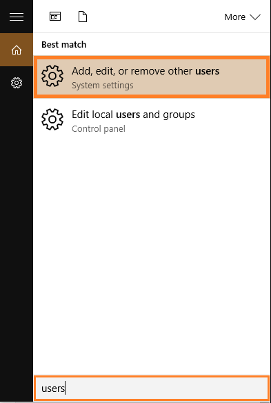 App Crashes - Windows 10 - Add, edit, or remove other users - Featured - Windows Wally