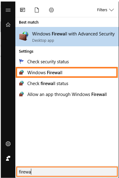 Firewall - Windows Firewall - 2 - Windows 10 - Windows Wally