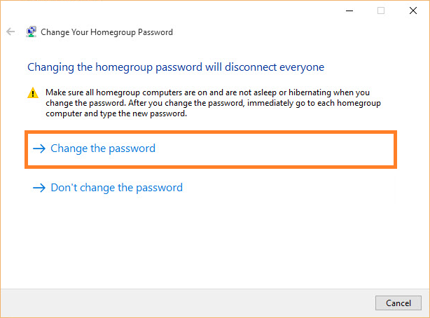 Homegroup -- Windows 10 - Change Homegroup Password - 2 - FreePowerPointTemplates