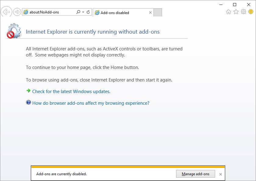 Update Trusted Sites -- RUN - iexplore -extoff - Internet Explorer - Windows Wally