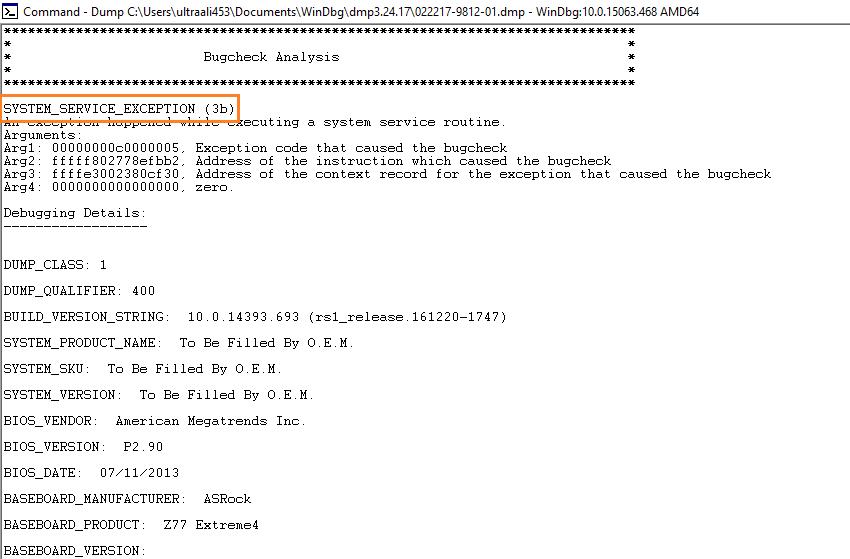 Dump Files -- WinDbg - 6 - Windows Wally