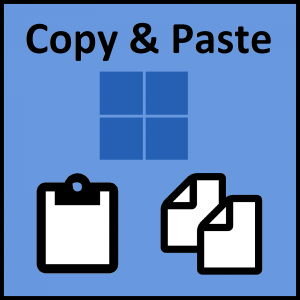 Copy Data -- Copy and Paste -2- Featured - Windows Wally
