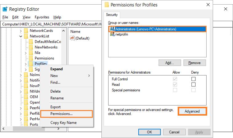 Windows 10 -- The Server Stumbled - 0x80072EFD - regedit - 5 - Windows Wally