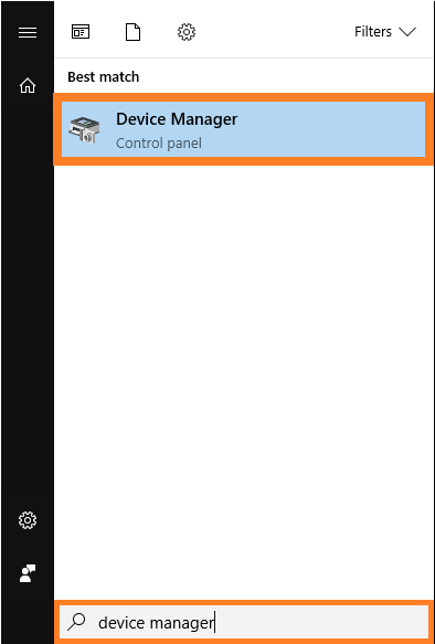 Windows 10 AE -- Start Menu - Device Manager - Windows Wally