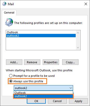 0x8004010F - Mail - 3 v2 -- Windows Wally